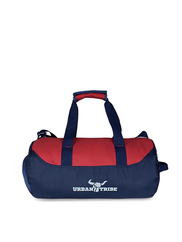 Urban Tribe Bolt Navy Red Gym Duffel Bag