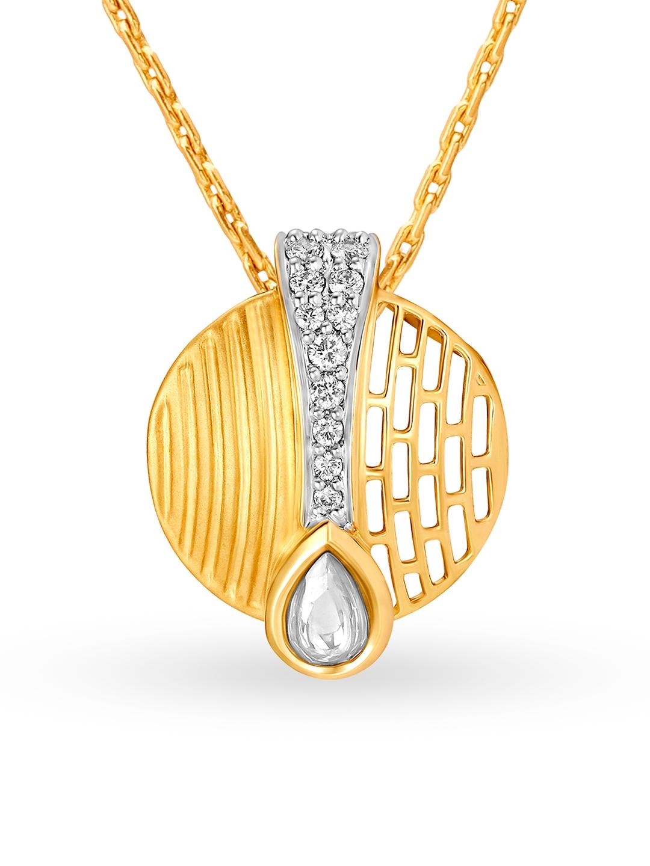 Mia by Tanishq Women 14KT Gold Pendant