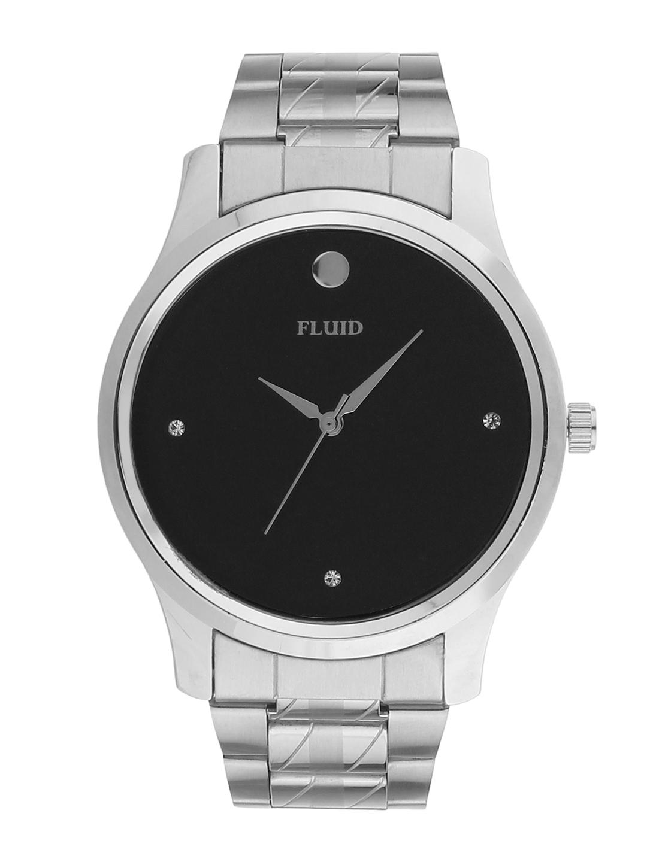 FLUID Men Black Analogue Watch FL 754G BK01