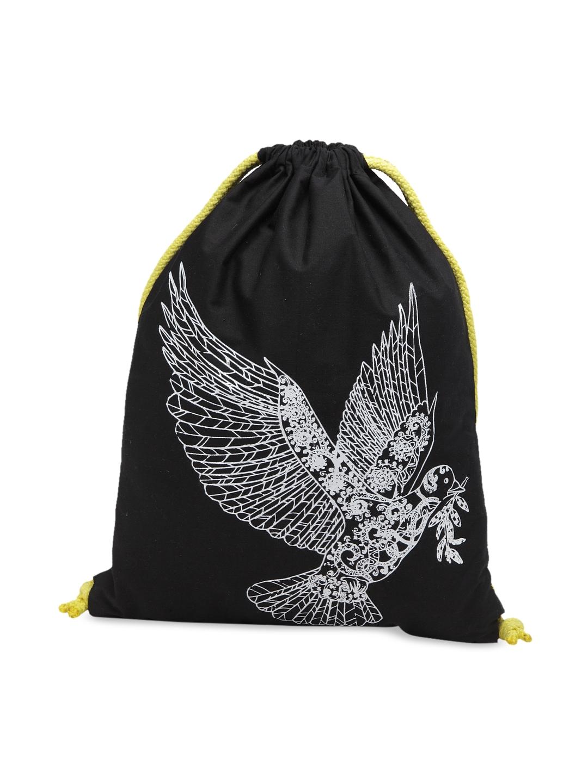 The House of Tara Unisex Black Graphic Backpack