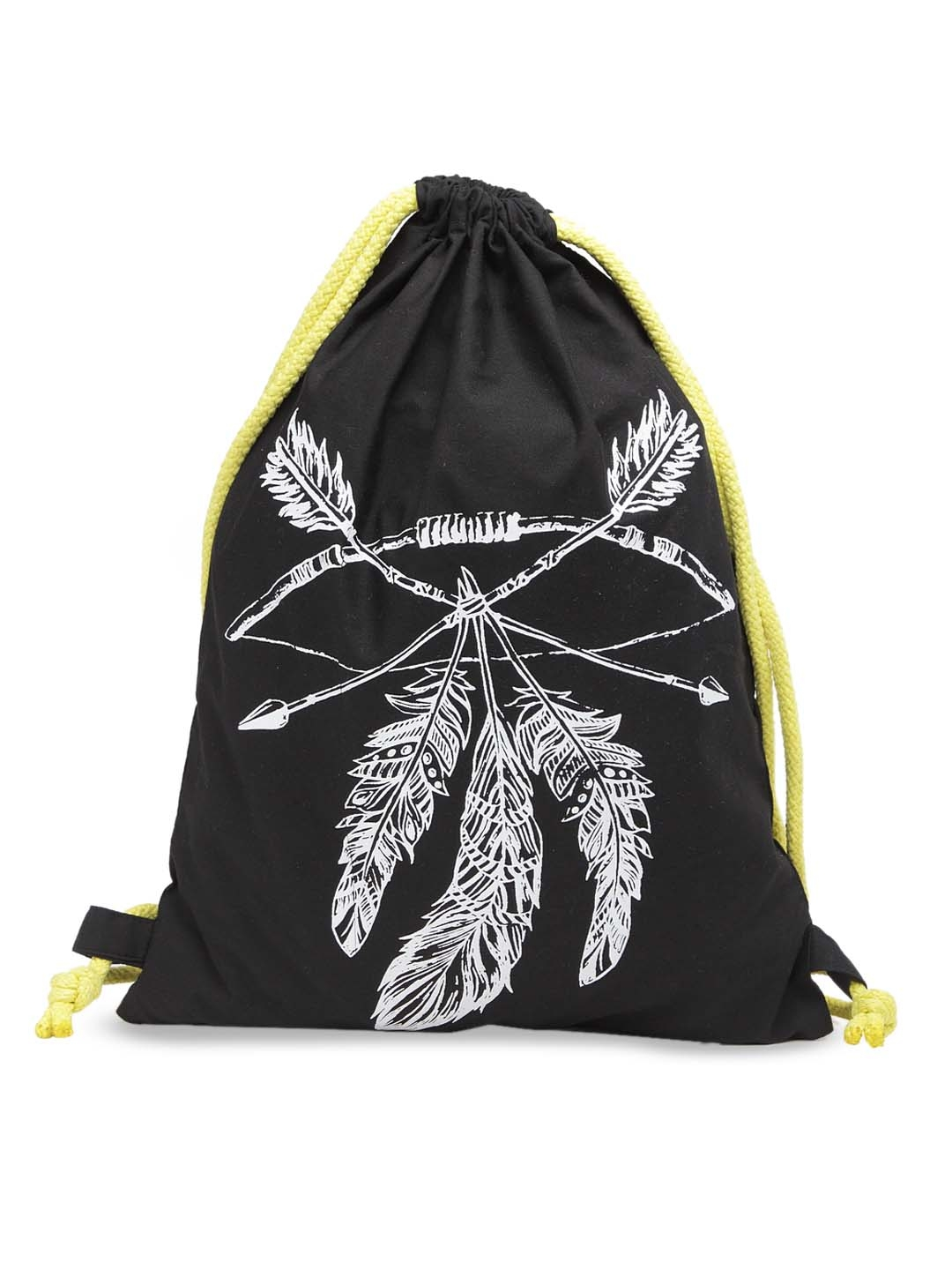The House of Tara Unisex Black Graphic Backpack