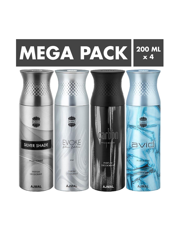Ajmal Set Of 4 Deodorants 200 ml each