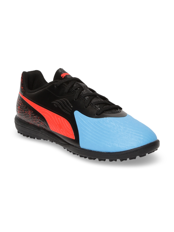 Puma Unisex Blue PUMA ONE 19.4 TT Jr Football Shoes