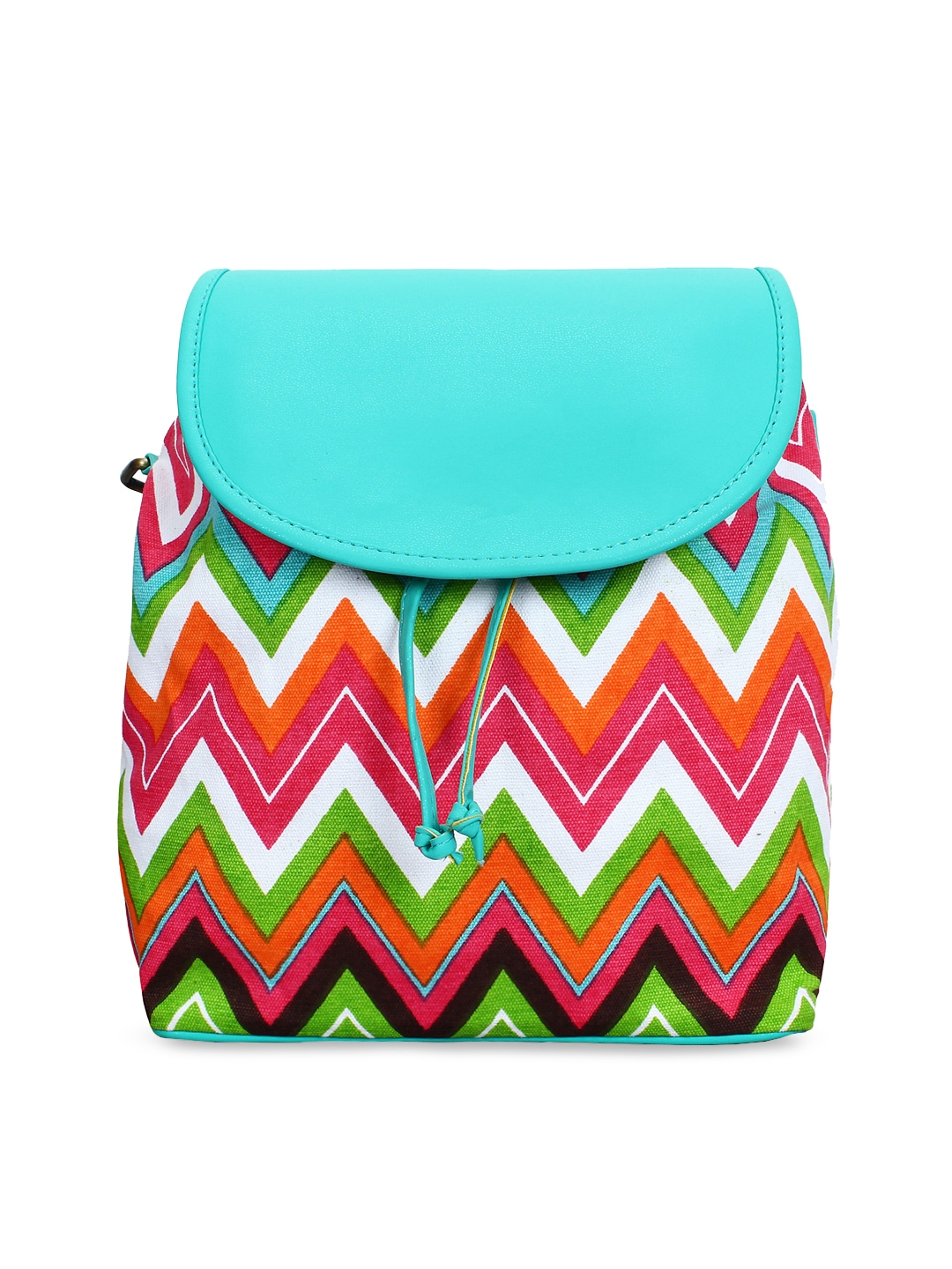 Lychee bags Multicoloured Striped Shoulder Bag