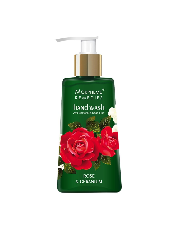 Morpheme Remedies Rose   Geranium, Anti Bacterial Handwash 250 ml