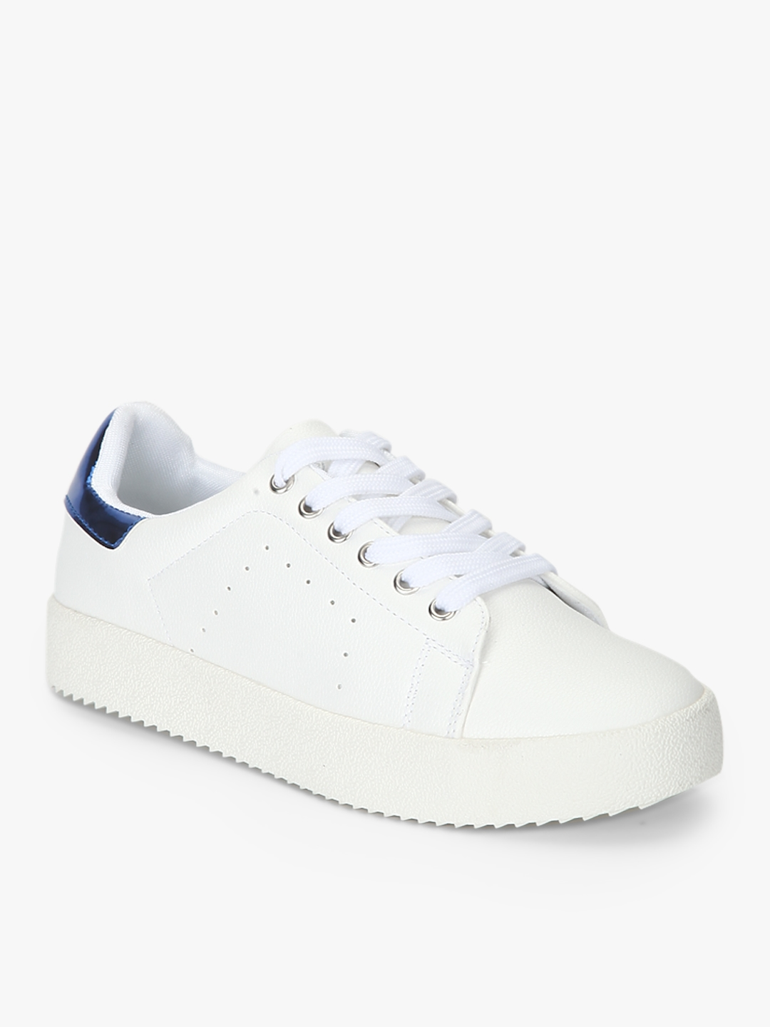 Buy Lee Cooper Women White Lace Up