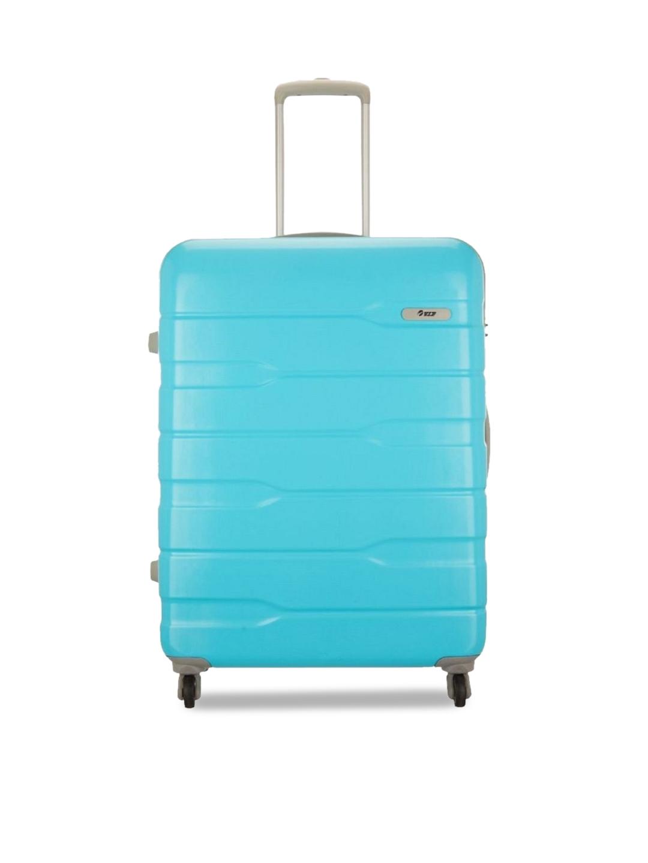 VIP Blue FERRARI ACTIVE STR 75 360  OCT TEX  OBL Trolley Bag