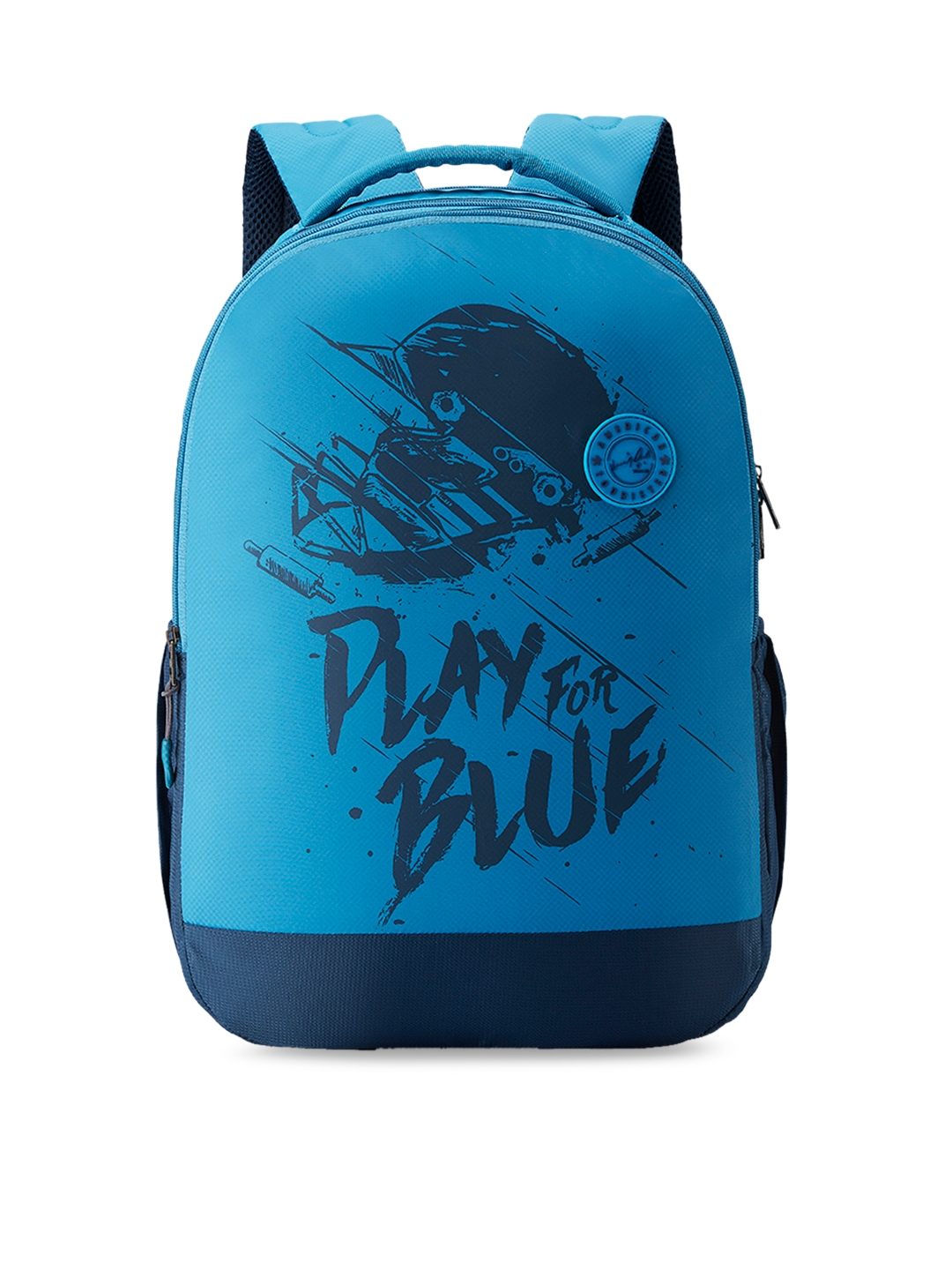 AMERICAN TOURISTER Unisex Teal Blue Graphic Backpack