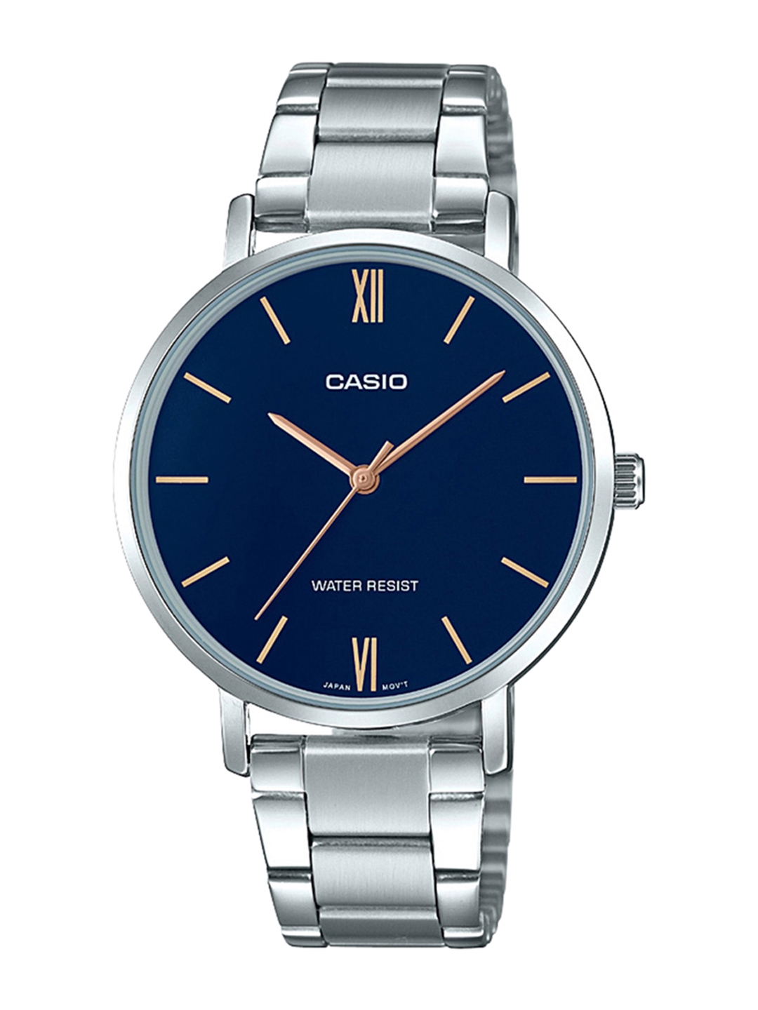CASIO Enticer Women Blue Dial Analog Watch LTP VT01D 2BUDF   A1623