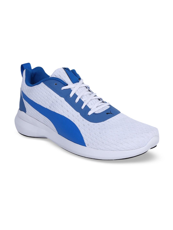 Puma Men White Player v2 IDP Sneakers