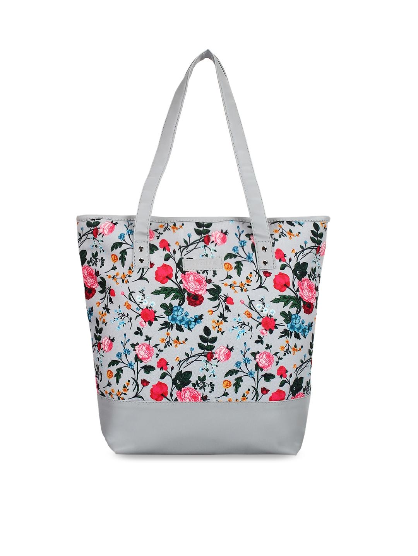Lychee bags Grey Printed Shoulder Bag