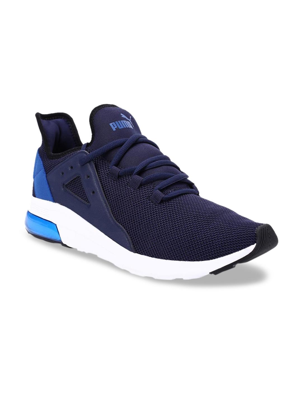 Buy Puma Unisex Navy Blue Mesh Running