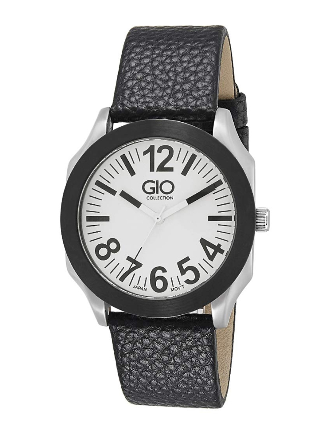 GIO COLLECTION Men White Analogue Watch G0006 05X