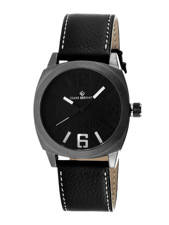 Giani Bernard Men Black Analogue Watch  GB 113BX