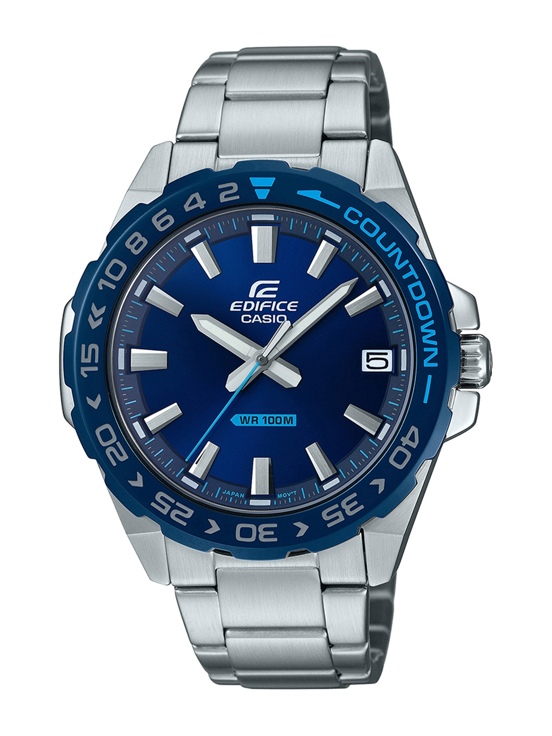 Casio Edifice Men Blue Analogue watch ED482 EFV 120DB 2AVUDF