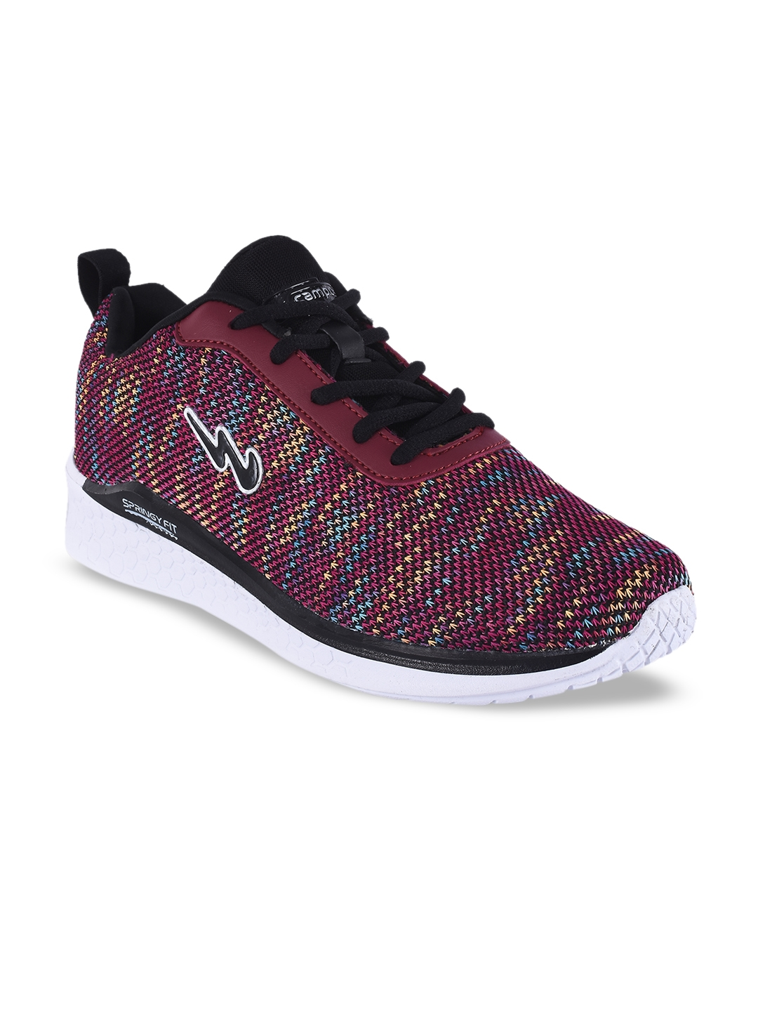 Campus Women Maroon Running Shoes