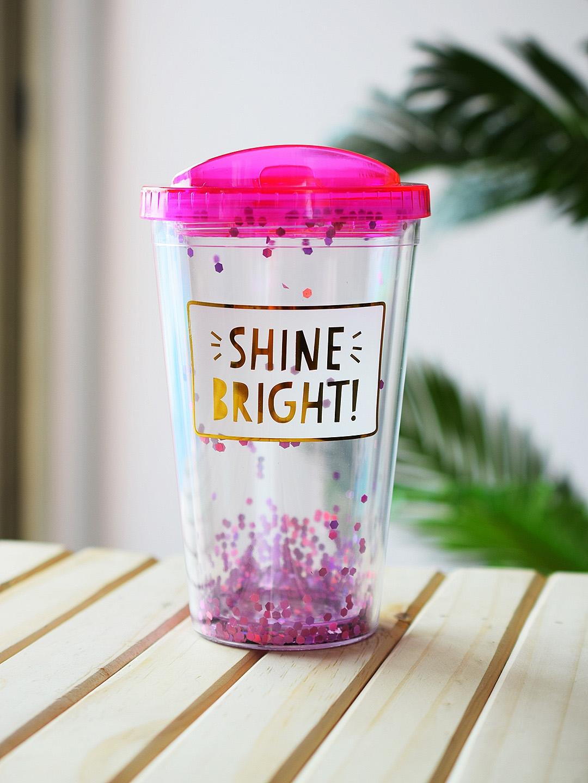 Archies Unisex Pink Sipper Bottle 500 ml