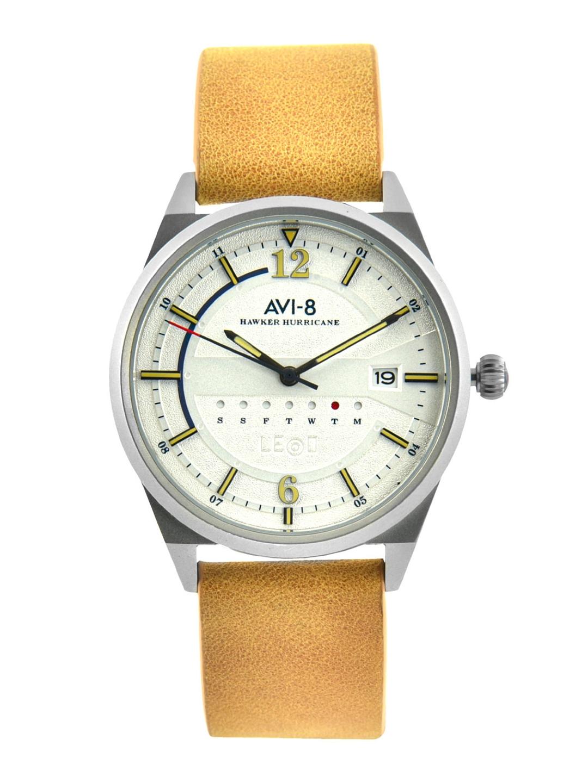 AVI 8 Men White Analogue Watch AV 4044 06