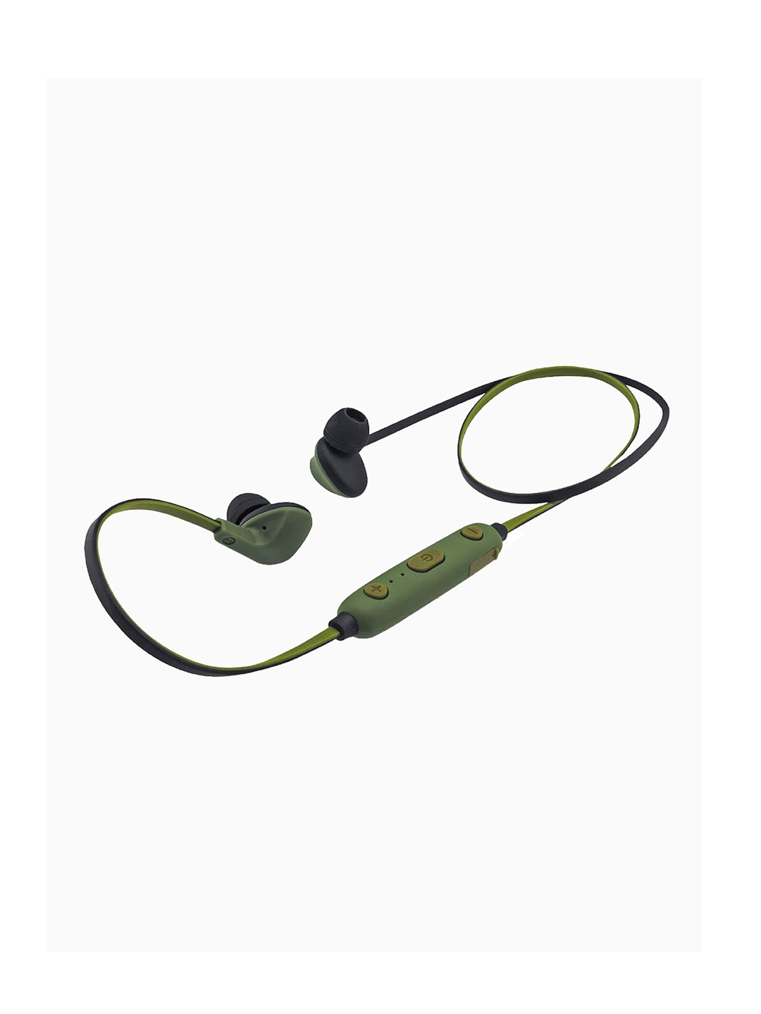 iball Green Ear Wear Sporty Wireless Bluetooth Headset With Mic