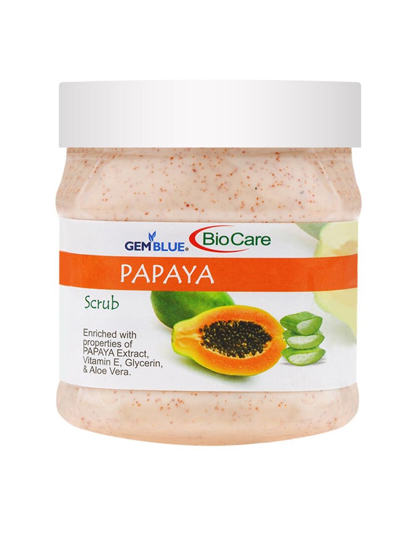 GEMBLUE BioCare Unisex Papaya Scrub 500 ml