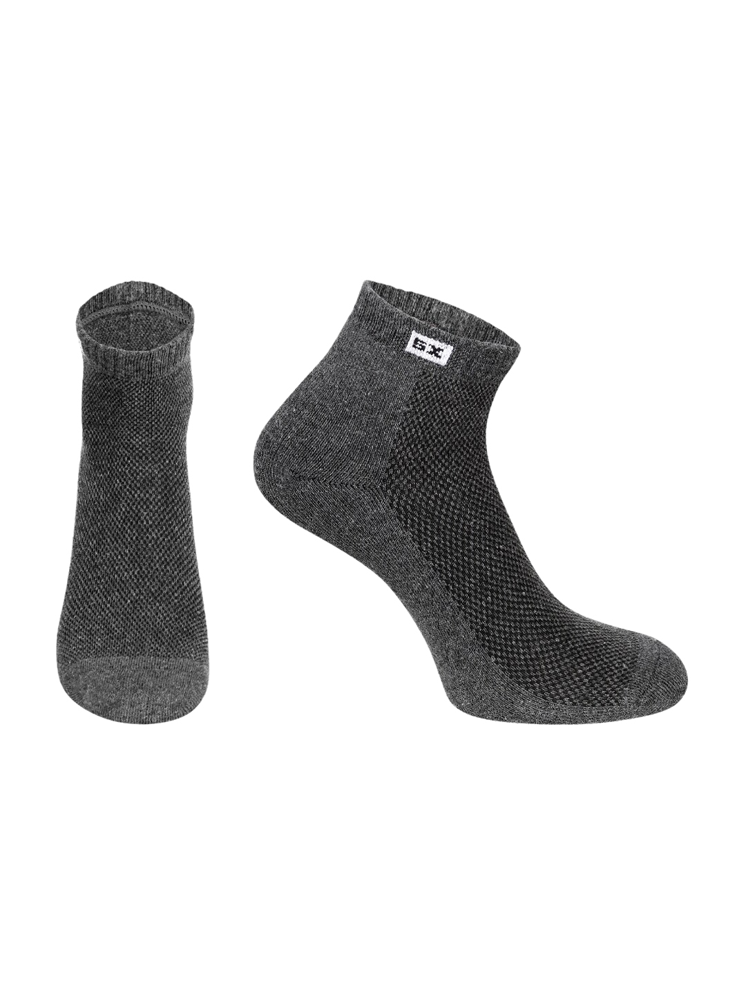 Supersox Unisex Pack Of 3 Solid Ankle Length Socks