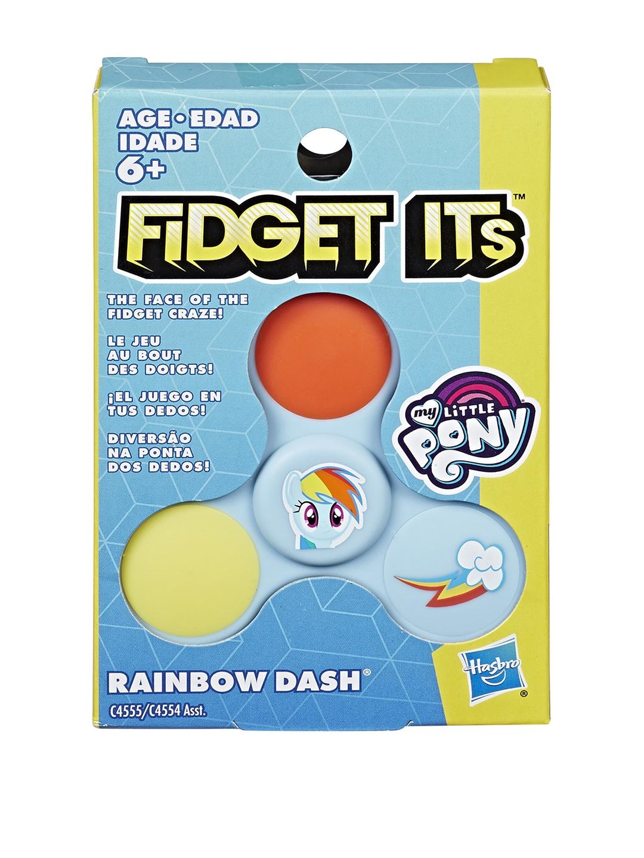My Little Pony Boys Blue   Orange Fidget Its Rainbow Dash Spinner