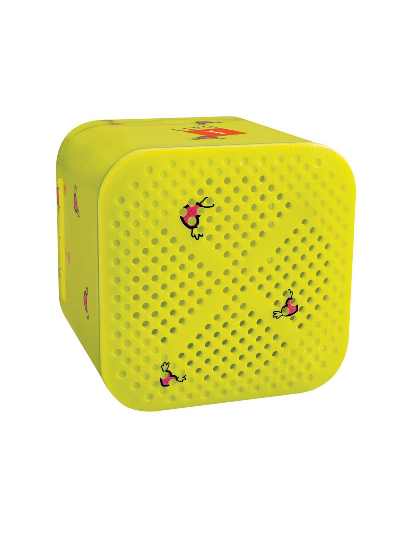 iball Kids Yellow Wireless Mini Bluetooth Speakers