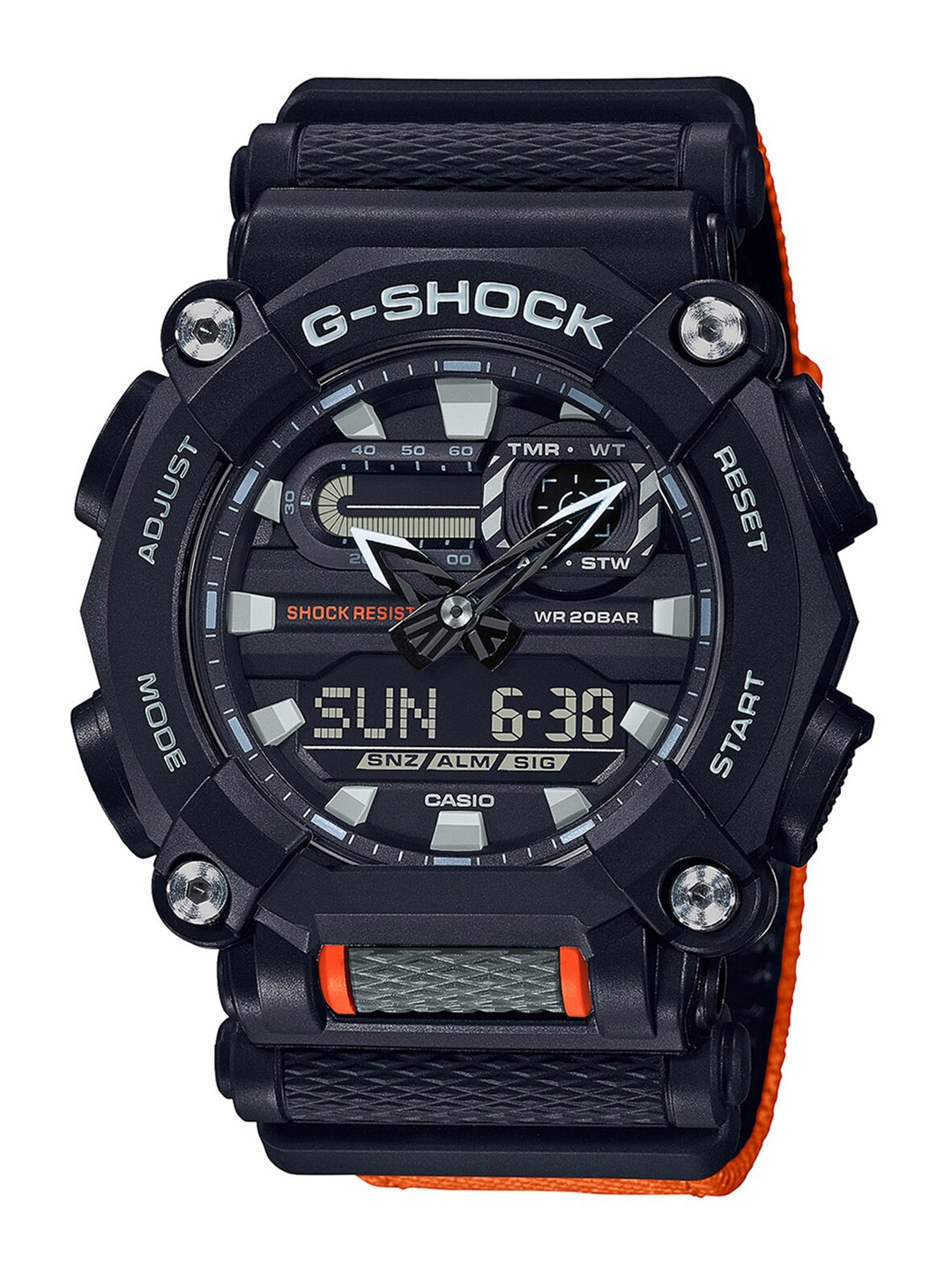 CASIO Men Black GA 900C 1A4DR  G1049  G Shock Analog Digital Watch