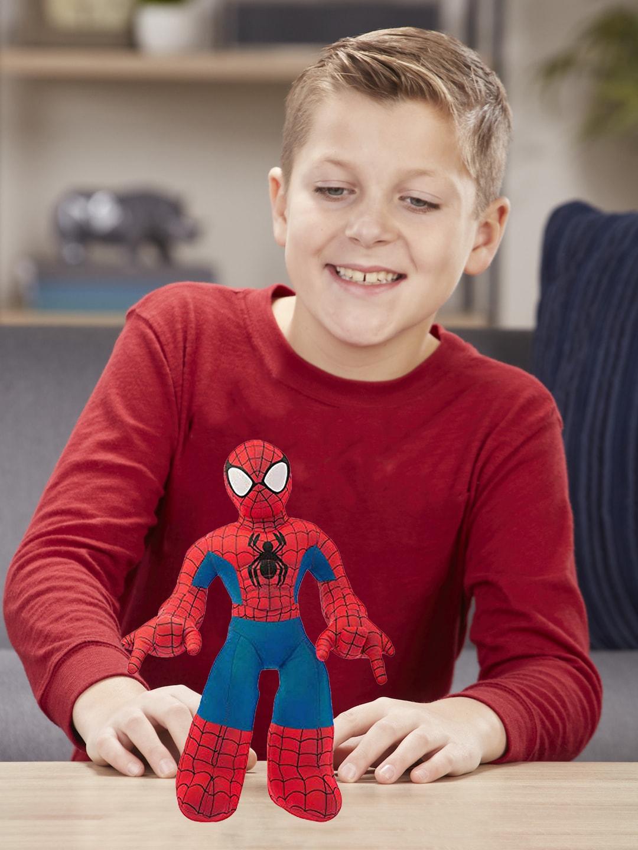 Dimpy Stuff Kids Red   Blue Superhero Spiderman Stuffed Soft Plush Big Toy