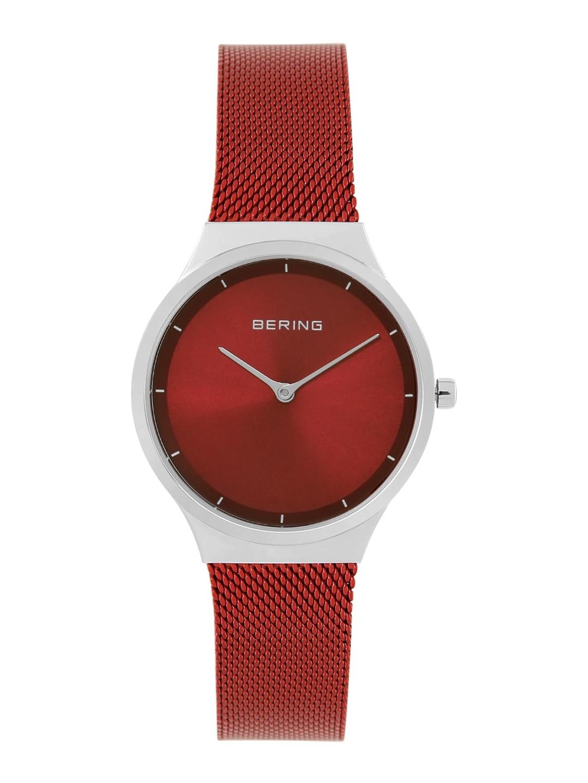 BERING Women Red Analogue Watch 12131 303