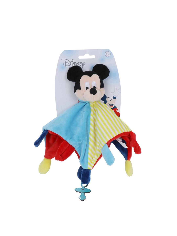 DISNEY PLUSH Kids Unisex Multicoloured 3D Mickey Mouse Doudou Stuffed Soft Toy