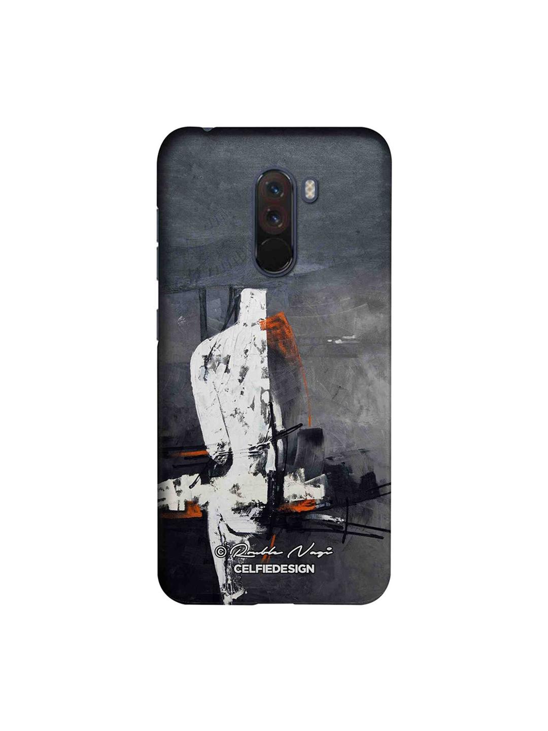 CelfieDesign Grey   White New Open World Xiaomi Mi A3 Sustainable Back Cover