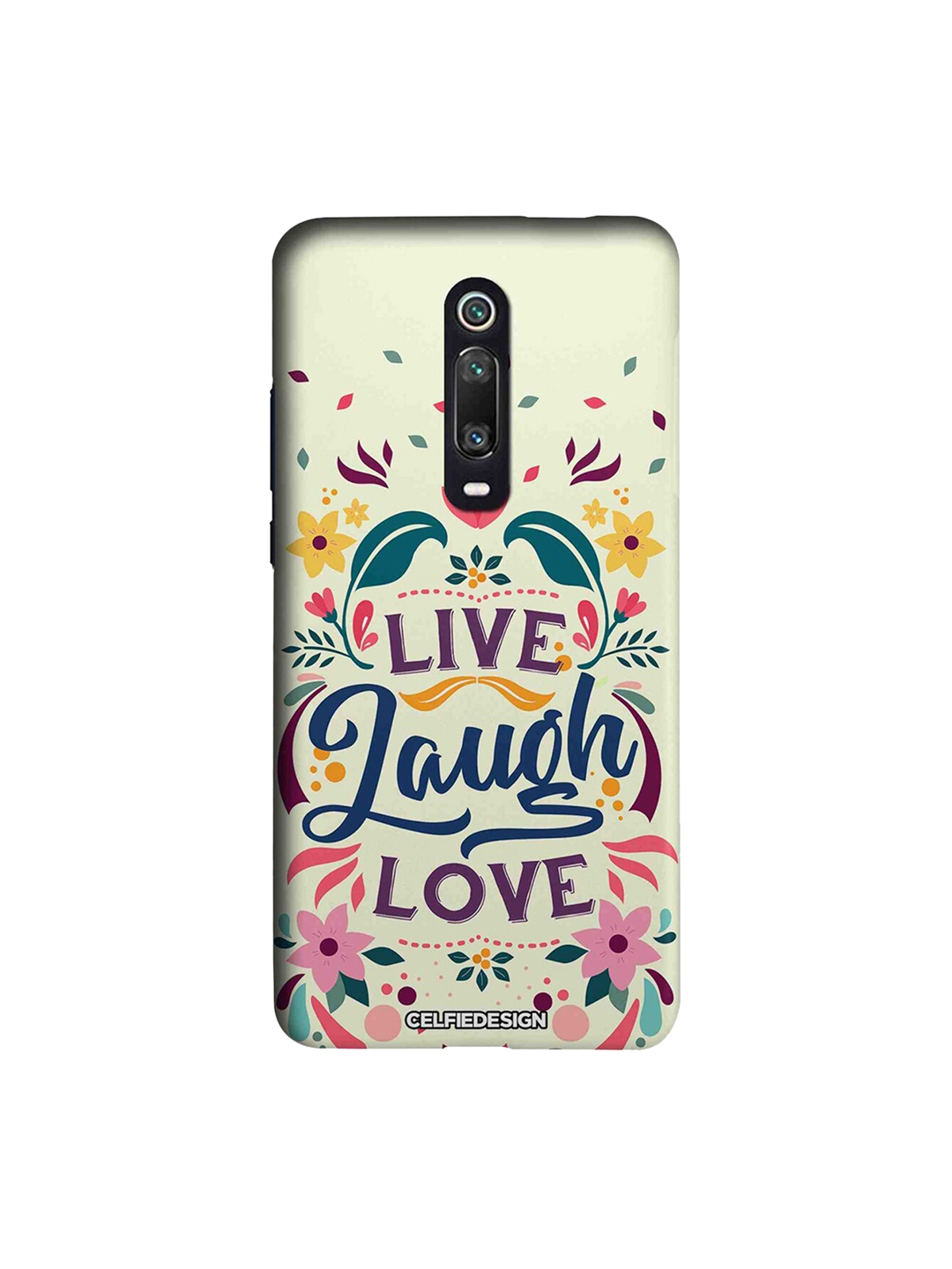 CelfieDesign White   Pink Live Laugh Love Xiaomi Redmi K20 Pro Sustainable Back Cover