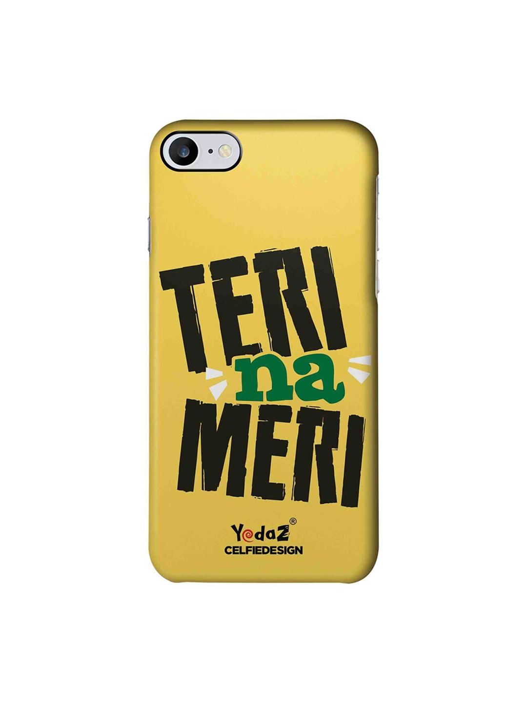 CelfieDesign Yellow Black Teri Meri Apple iPhone 7 Back Cover