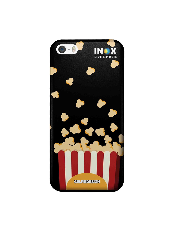CelfieDesign Multicoloured Popcorn INOX Apple iPhone SE Back Cover