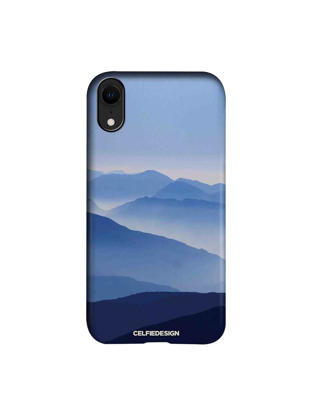The High Mountains Apple iPhone XR Back Cover Signature