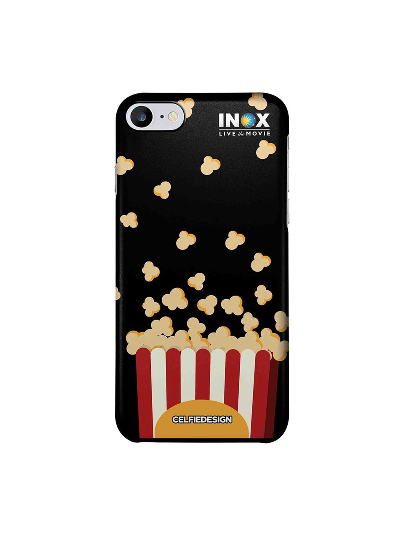 CelfieDesign Multicolored Popcorn Apple iPhone 7 Back Cover INOX