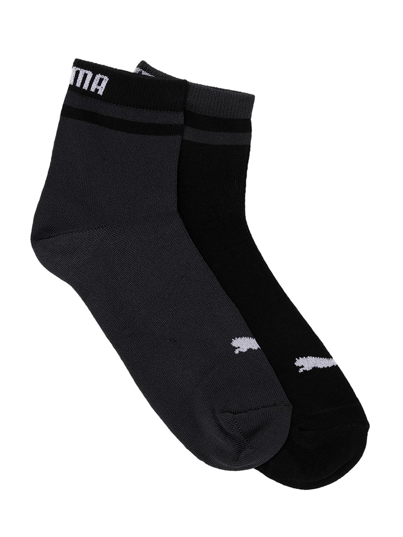 Puma Women Black Solid Ankle Length Socks