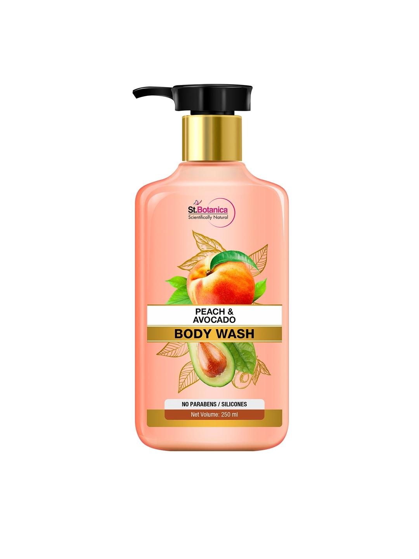 St.Botanica Peach Avocado Body Wash   250 ml