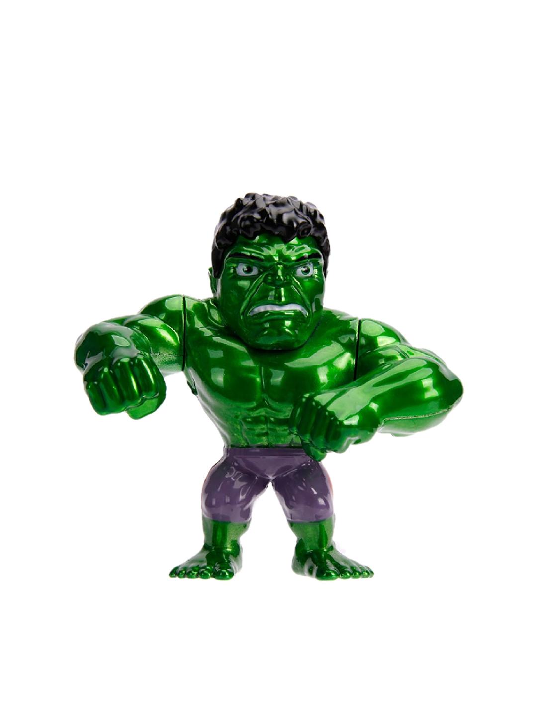 Jada Toys Kids Green   Purple Diecast Metal Marvel Hulk Action Figure