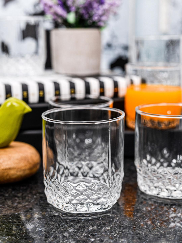 GOODHOMES Set Of 6 Transparent Juice Glass