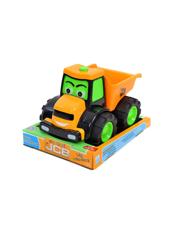 my first JCB Kids Orange   Black JCB Big Wheeler Joey Toy Vehicle