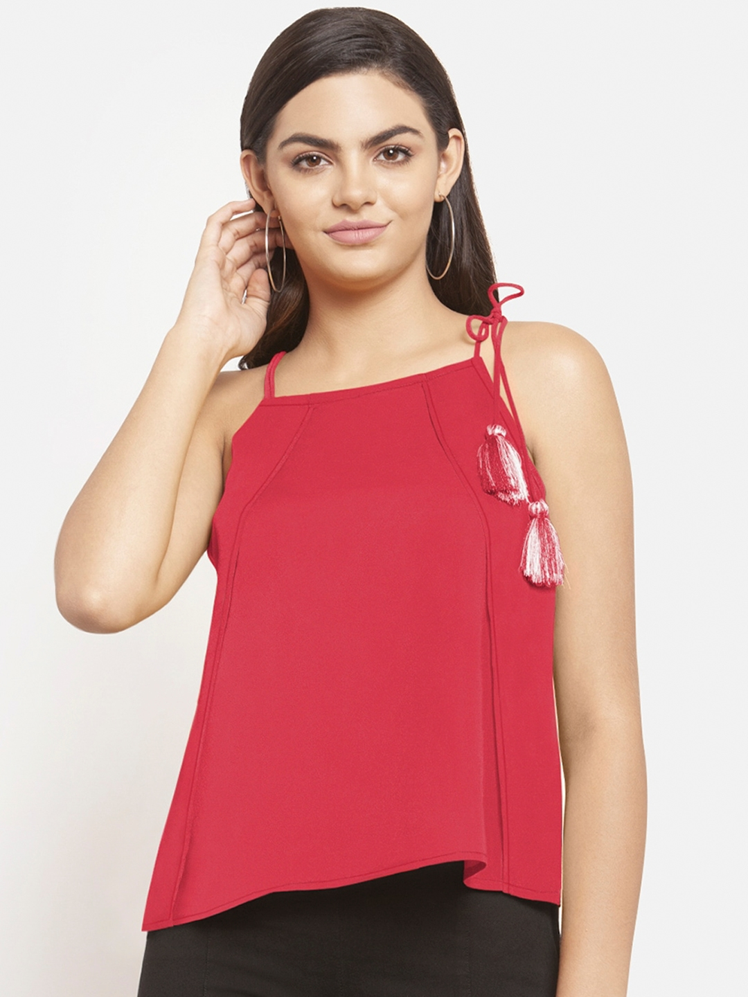 Martini Women Pink Solid Top
