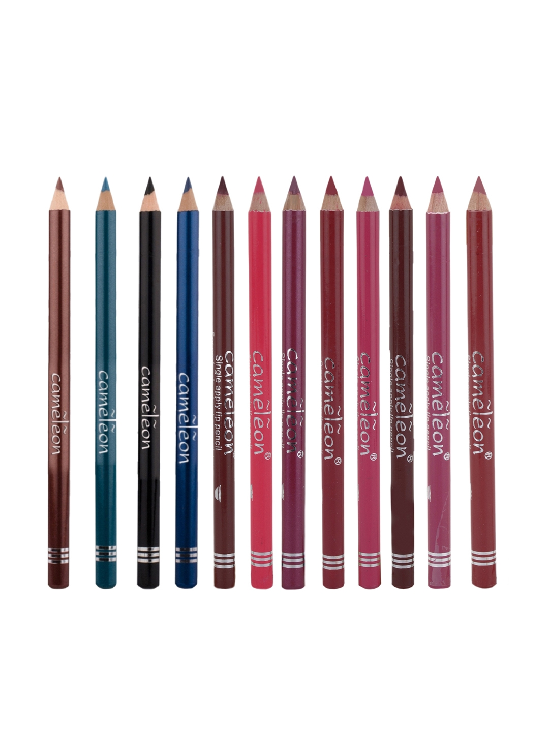 Cameleon Set of 12 Single Apply Lip Liner Pencil