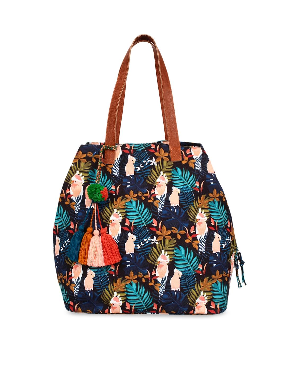 Anekaant Multicoloured Printed Shoulder Bag
