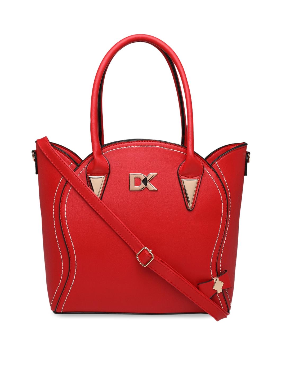 Diana Korr Red Solid Handheld Bag