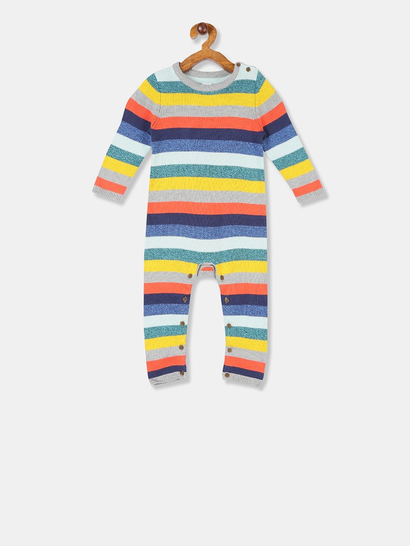 GAP Boys Multi Colour Printed Bodysuit