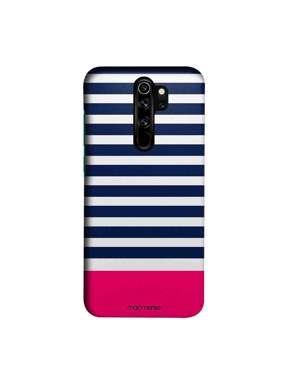 macmerise White   Blue Simply Stripes Sublime Xiaomi Redmi Note 8 Pro Back Cover
