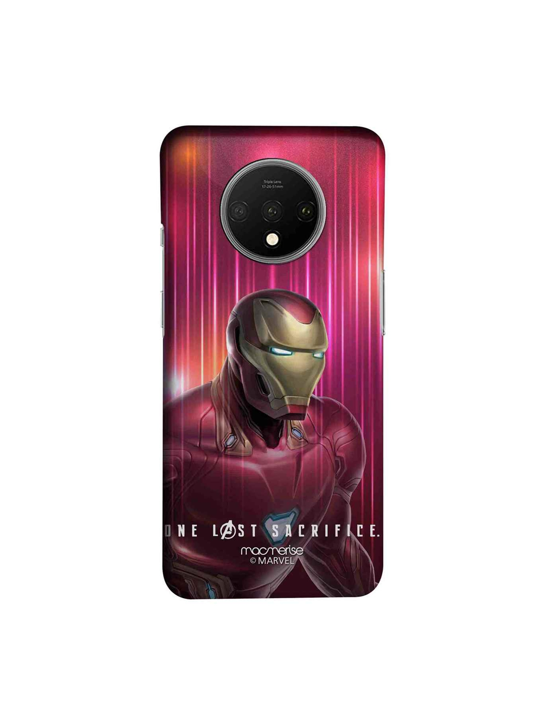 macmerise Pink   Red Marvel Comics One Last Sacrifice Sublime OnePlus 7T Back Cover