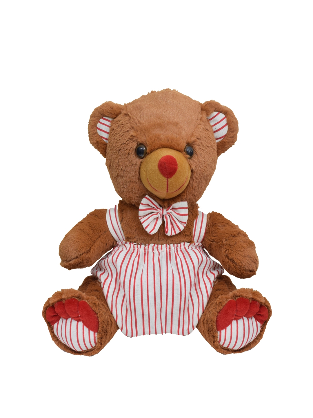 Ultra Kids Brown   White Cuddly Dungry Teddy Bear Soft Toy
